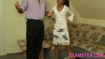 Pretty slim brunette teen stepdaughter she take... Thumbnail